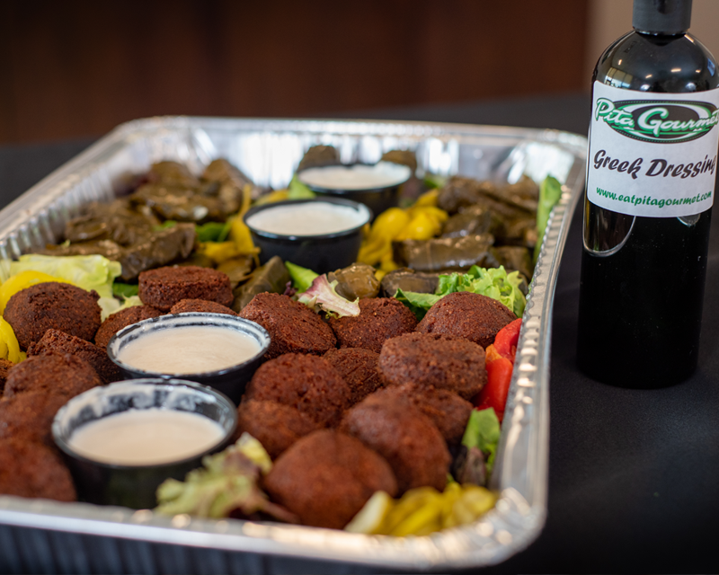Falafel & Grape Leaves — Pita Gourmet Catering in Buffalo, NY