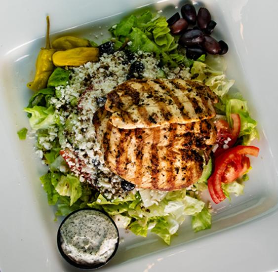 Greek Salad — Mediterranean-American Food at Pita Gourmet in Buffalo, NY